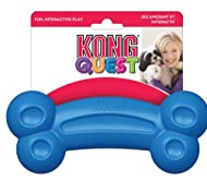 KONG - Quest Bone - Dog Treat Dispenser/Puzzle to Stimulate the Mind - For Large Dogs