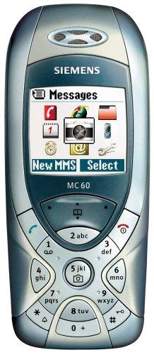 Siemens MC60 - Telefono cellulare, colore: titanio