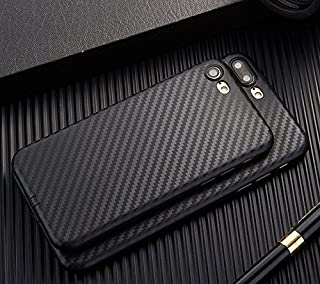 for Apple iPhone SE 5s 5 Slim Carbon Fiber TPU Soft phone back Case Cover Skin (Black for iPhone SE 5s 5)