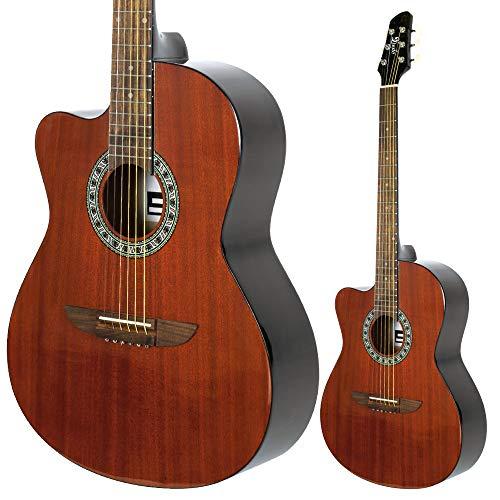 Lindo Guitarra acústica para zurdos 931C caoba superior y...