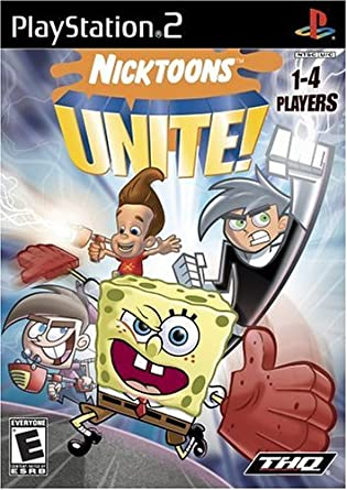 Amazon.com: Nicktoons Unite! - PlayStation 2 : Artist Not Provided: Video  Games