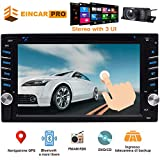 2 Din Car Stereo with Touch Screen Bluetooth Car Radio in Dash Headunit