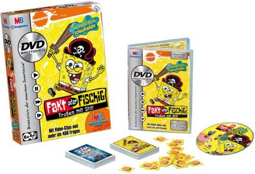 Hasbro - MB - Spongebob DVD Brettspiel