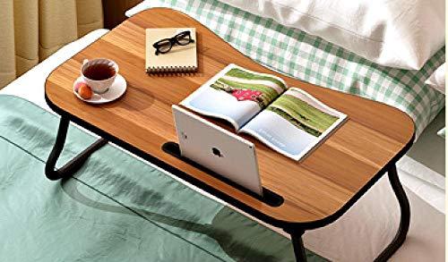 Taigoehua Zusammenklappbarer Hochbett-Schreibtisch Holz-College-Nachttisch Klappbett-Schreibtisch-C