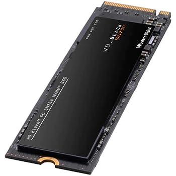 Western Digital 2TB WD_Black SN750 NVMe Internal Gaming SSD - Gen3 PCIe, M.2 2280, 3D NAND - WDS200T3X0C