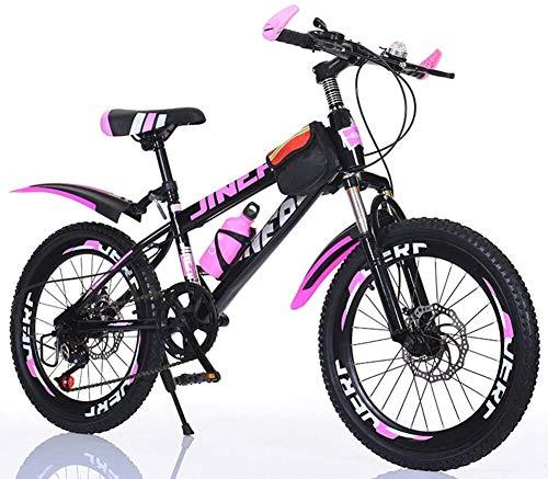 Los hijos de Bicicletas 20 pulgadas Bicicletas de montaña Estudiante al aire libre Deportes de la bici de la bicicleta de los muchachos de las niñas Bicicletas Hombres Mujeres Ciudad de cercanías bici