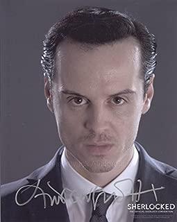 ANDREW SCOTT as Jim Moriarty - Sherlock GENUINE AUTOGRAPH