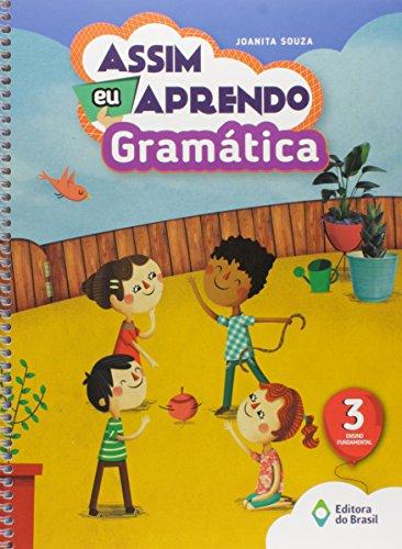 Assim Eu Aprendo Gramática. 3º Ano