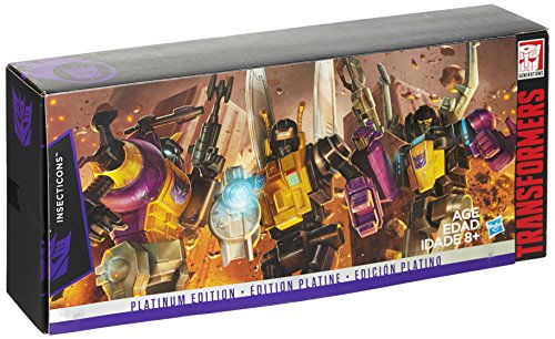 Transformers Platinum Edition Reissue Insecticons Set of 3
