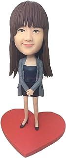Statuette in argilla Bobble Head completamente progettate dal cliente in base alle foto dei clienti usando come regali di ...