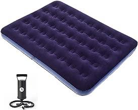 Highlander 800 gramos 180 x 80 x 11 cm color azul Colch/ón de acampada hinchable