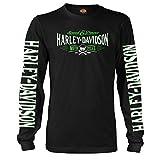 Harley-Davidson Military Long-Sleeve Graphic T-Shirt - Ramstein AB | Villain 2X