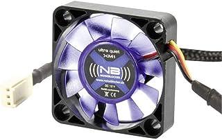 Noiseblocker BlackSilentFan 40mm - Ventilador de PC (Ventilador, Carcasa del ordenador, 11 Db, Negro, WEEE, CE, 0,36W)