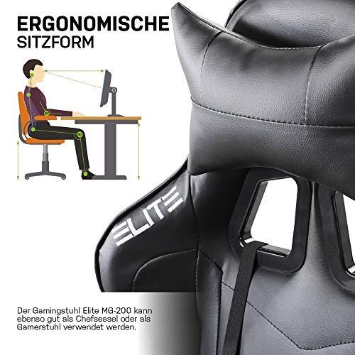 ELITE Racing Gaming Stuhl MG-200 – Bild 2*