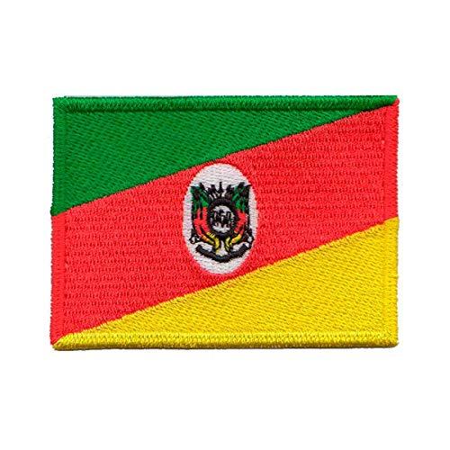 Patch Bordado - Bandeira Rio Grande Do Sul BD50031-424 Termocolante Para Aplicar