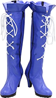 Whirl Cosplay Boots Shoes for Sailor Moon Sailor Saturn Boots