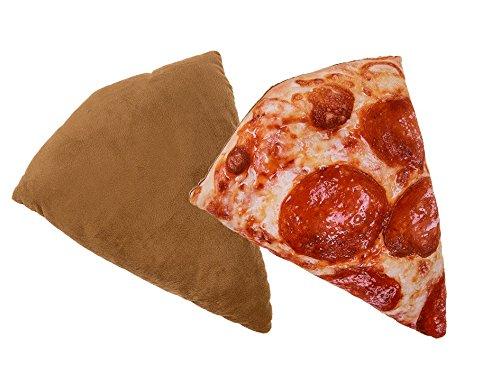 Preis am Stiel Deko Kissen ''Pizzastück'' | Sofakissen | Zierkissen | Kuschelkissen | Schmusekissen | Kissen Deko | Wohnzimmer Deko