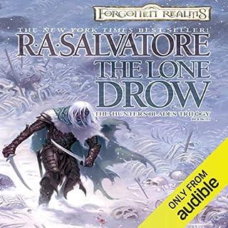 Page de couverture de The Lone Drow
