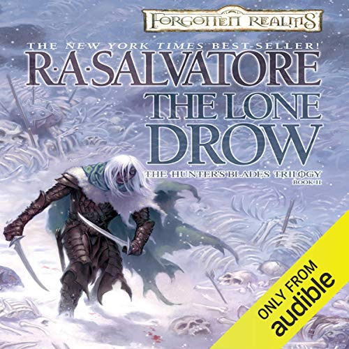 Page de couverture de The Lone Drow