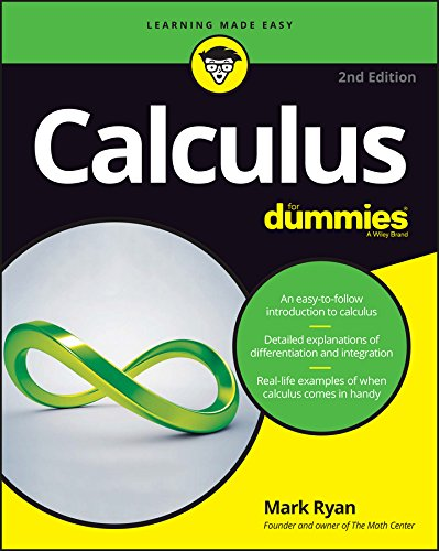 Compare Textbook Prices for Calculus For Dummies For Dummies Lifestyle 2 Edition ISBN 9781119293491 by Ryan, Mark
