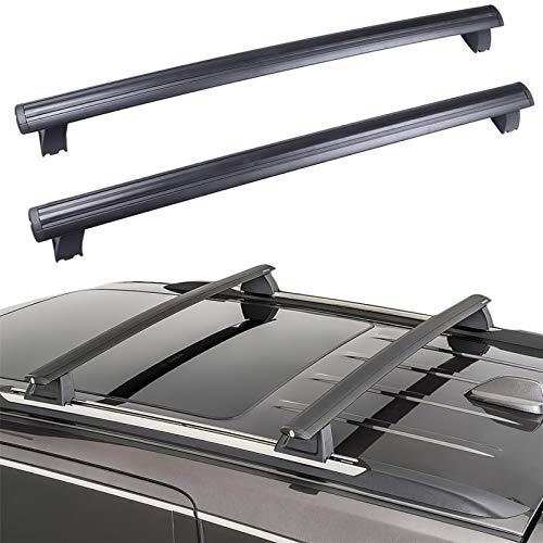 QSCTYG Barre Portatutto Rotaie per Auto per Auto Crossbar Roof Racks Rack per Bagagli Sostituzione per Il 2011-2020 Jeep Grand Cherokee 133