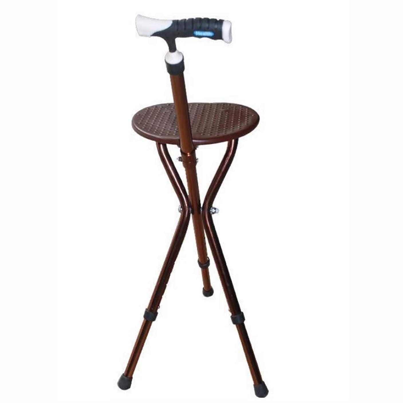 社会学天窓までDSHUJCアルミ合金杖椅子3脚松葉杖マッサージ照明機能付き5つのファイル高さ調節可能高齢者に便利