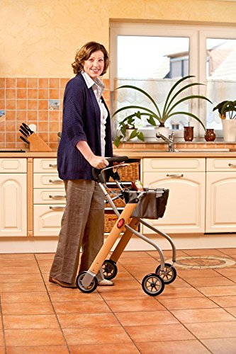Trust Care Indoor Rollator Let's Go rood zwart