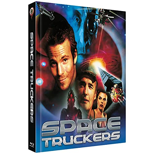 Space Truckers - Mediabook - Cover A (25th Anniversary Edition) (2-Disc Limited Collector's Edition Nr. 46) - Limitiert auf 444 Stück (+ DVD) [Blu-ray]