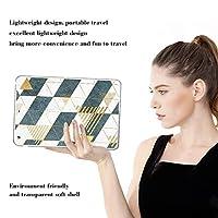 PRINDIY iPad Air 1/iPad Air カバー,アンチダスト クリア 耐衝撃 ソフトシリコンTPU キズ防止 耐久性 ウルトラスリム クリア スリム 軽量 保護ケースカバー iPad Air 1/iPad Air Case-D 67