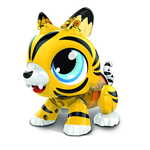 Build a Bot- Juguete de Tigre sonoro, Color Tiger (Colorific
