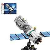 CYGG Conjunto de Bloques de construcción de transbordadores espaciales de la Nave Espacial técnica, Compatible con la Nave Espacial con Espacio Lego - 804 PCS