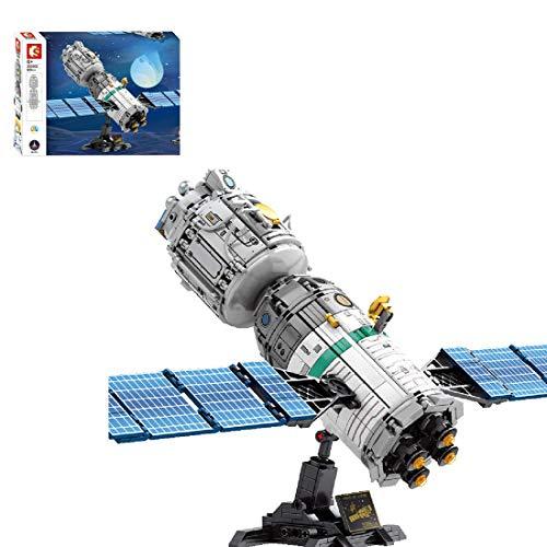 Technic Space Space Shuttle Bloques de construcción Juego, Nave Espacial Compatible con el Espacio Lego - 804 PCS