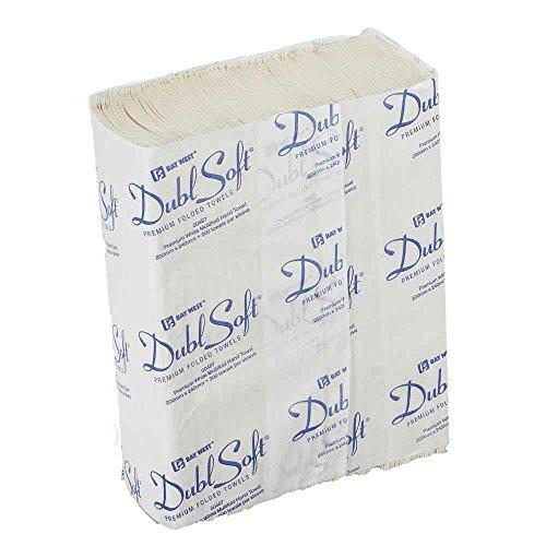 Bay West AEB300-WT DublSoft Micro opgevouwen handdoek, 1-