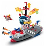 Fisher-Price - Imaginext - Portaaviones Héroes del Aire (Mattel)
