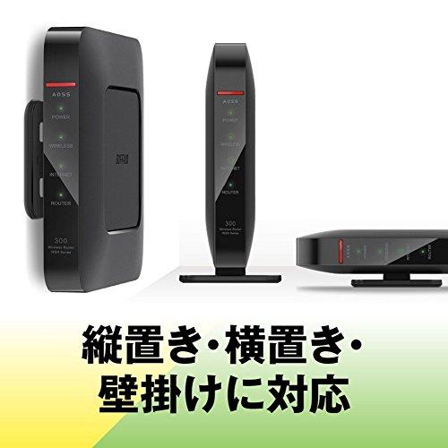 『BUFFALO WiFi 無線LAN ルーター WSR-300HP/N 11n 300Mbps 1ルーム向け 日本メーカー 【iPhone12/11/iPhone SE(第二世代)/Amazon Echo メーカー動作確認済み】』の6枚目の画像