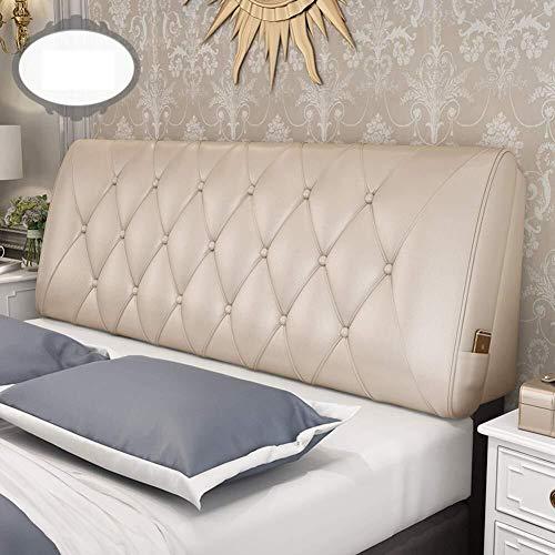 ZH Schwamm gefüllt Triangular weicher Polsterkopfteil mit Keilkissen, weiche Kopfkeilkissen Bett Rückenlehne Forbed Erkerfenster (Color : B, Size : 120x58x10cm(47x23x4inch))
