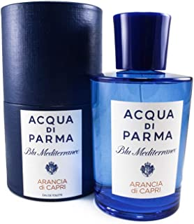 Acqua Di Parma Blue Mediterraneo Arancia Di Capri Eau De Toilette Spray for Men, 5 Ounce