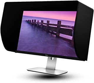 iLooker-27S 27inch Ultr-Slim Frame LCD LED Video Monitor Hood Sunshade Sunhood for DELL HP Viewsonic Philips Samsung LG EIZO NEC ASUS Acer BENQ AOC Lenovo, Fits Monitor Frame Width 610-630mm