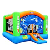 qazxsw Bouncy Castles Sports Toys Large Home Outdoor Large Children's Playground Inflatable...