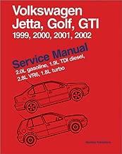 Volkswagen Jetta, Golf, GTI Service Manual 1999-2002 : 2.0L gasoline, 1.9L TDI diesel, 2.8L VR6, 1.8L turbo