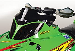 PowerMadd 12410 Cobra Windshield for Arctic Cat Firecat - Black - Extreme low height