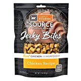 SIMPLY NOURISH (1) Source Jerky Bites Chicken Recipe for Cats 1-3 oz Resealable Bag