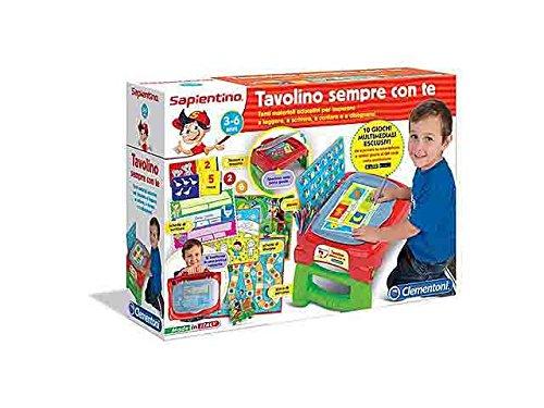 SAPIENTINO TAVOLINO SEMPRE CON TE GIOCATTOLO GIOCHI EDUCATIVI APPRENDIMENTO giocattolo GIOCO IDEA REGALO natale #AG17