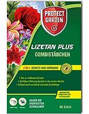 PROTECT GARDEN Lizetan Plus kombistapp utan skadedjur och andra sura skadedjur och premiumgödsel i ett, 40 st.