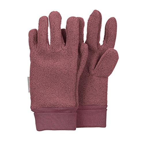 Sterntaler Fingerhandschuhe für Kinder, Alter: 3-4 Jahre, Größe: 3, Violett (Pflaume)