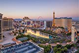Las Vegas Skyline Nevada USA Bild XXL Wandbild Kunstdruck