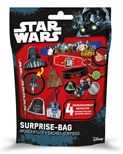 Craze Überraschungstüte Wundertüte Surprise Bag Disney Star Wars Sortiert 56432, bunt