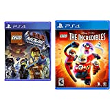 The LEGO Movie Videogame - PlayStation 4 & LEGO Disney Pixar's The Incredibles - PS4