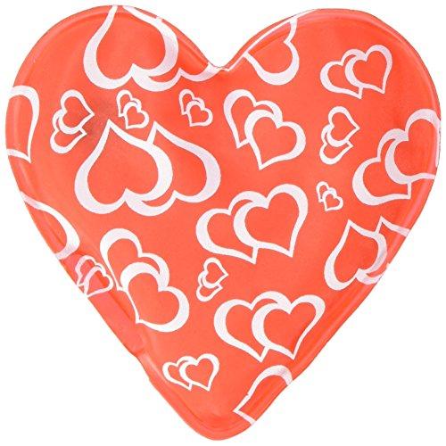 Set de 4 calentadores de mano en forma de corazón