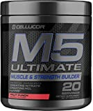 Cellucor M5 Ultimate Post Workout Powder Fruit Punch | Muscle & Strength Building Supplement | Creatine Monohydrate + Creatine Nitrate + Creatine HCL + HMB | 20 Servings
